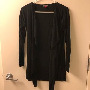 Light weight black cardigan. Very comfortable!!